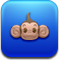 Animal, monkeyballop, monkey MediumBlue icon