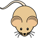 Mouse, tan BurlyWood icon