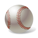 baseball, Ball, sport Black icon