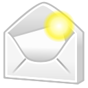 mail, Email, Message, Letter, new, envelop Icon
