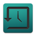Apple, time, history, machine, Alt Teal icon