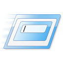 executable, Gnome Black icon
