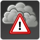 exclamation, climate, wrong, Alert, warning, weather, Error, severe DarkSlateGray icon