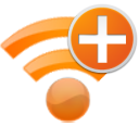 radio, wireless, Wifi, plus, new, internet, Add Black icon