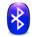 kbluetooth, Flashing MediumBlue icon