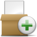 plus, File, Add, document, paper, Archive WhiteSmoke icon