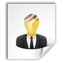 Author, Text, Human, Gnome, people, document, paper, Account, user, mime, profile, File WhiteSmoke icon