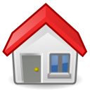 Building, house, Home, homepage, old Gainsboro icon