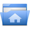 Gnome, house, homepage, Home, Building CornflowerBlue icon