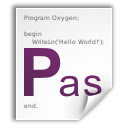 Pascal, Text, File, document WhiteSmoke icon