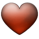 valentine, Favorite, Emblem, love, Heart Black icon