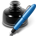 old, writer, Edit, Openofficeorg, write, Pen, Draw, pencil, writing, paint, Ink Black icon