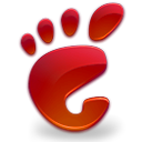 red, Gnome, here, start Black icon