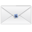 Message, Letter, envelop, Email, unread, mail WhiteSmoke icon
