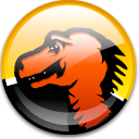 mozilla Black icon