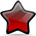 new, Emblem DarkRed icon