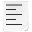 listing, list, White, type WhiteSmoke icon