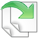 Revert, saved, gtk, ltr Snow icon