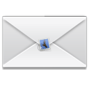 mark, Email, mail, Message, envelop, Letter, unread WhiteSmoke icon