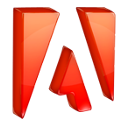 Acroread, adobe DarkRed icon