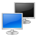network, Transmit Black icon