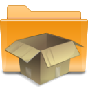 Tar, Folder, Kde Goldenrod icon