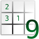 Gnome, Sudoku WhiteSmoke icon
