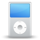 Apple, player, ipod, Multimedia Gainsboro icon