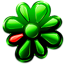 im, icq Green icon