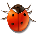 Buddy, bug Firebrick icon