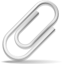 mail, envelop, paper clip, Email, Message, Letter, Attachment DarkSlateGray icon