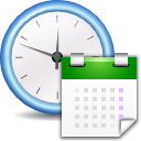 time, Configure, system, preference, configuration, Setting, config, Time attendance, history, option WhiteSmoke icon
