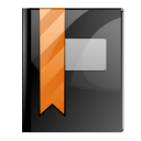 bookmark, stock DarkSlateGray icon