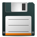 save, File, paper, document DarkSlateGray icon