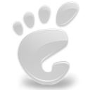 here, start, White, Gnome LightGray icon