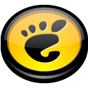 start, round, Circle, Gnome, here Black icon
