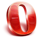 Opera, Browser Firebrick icon