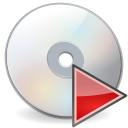 Cd, Disk, disc, Gnome, save Gainsboro icon