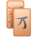 Gnome, mahjongg PeachPuff icon