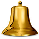 cowbell SaddleBrown icon