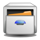 system, manager, document, paper, File Gainsboro icon