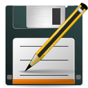 As, paper, save as, File, document, save DarkSlateGray icon