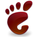 Blood, Gnome, here, start Maroon icon