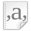 Csv, Text, File, document WhiteSmoke icon