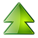 upgrade, pack, package YellowGreen icon