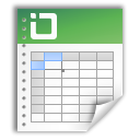 Application, Excel, Ms Black icon