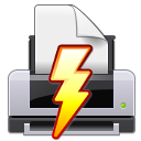 Print, Install, printer, gtk, Installation, setup Black icon