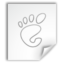 mime, Application, Gnome WhiteSmoke icon