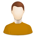 Human, people, profile, user, Account, stock DarkGoldenrod icon