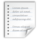 Text, document, generic, File WhiteSmoke icon